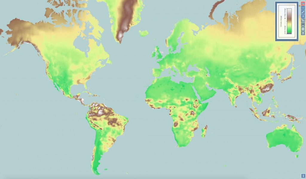 New Interactive Map Shows Climate Change Everywhere In World - Florida Global Warming Map