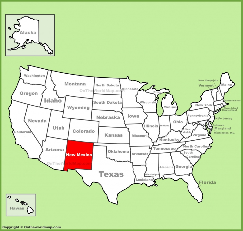 New Mexico State Maps   Usa   Maps Of New Mexico (Nm) - Texas New Mexico Map