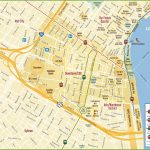 New Orleans Cbd And Downtown Map   New Orleans Street Map Printable