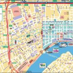 New Orleans French Quarter Tourist Map   New Orleans Street Map Printable