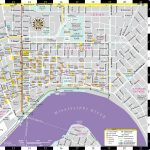 New Orleans Map French Quarter And Travel Information | Download   Printable French Quarter Map