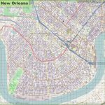 New Orleans Maps | Louisiana, U.s. | Maps Of New Orleans   New Orleans Street Map Printable