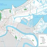 New Orleans Street Map   Printable Map Of New Orleans
