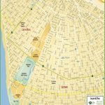 New Orleans Uptown Map   New Orleans Street Map Printable