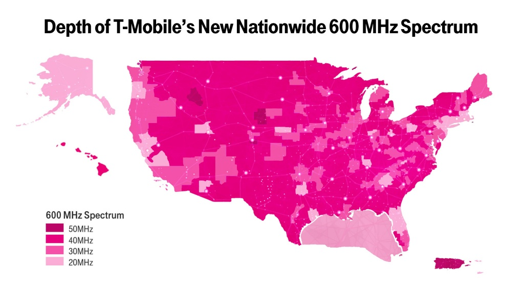 New T-Mobile Upgrade May Boost Your Coverage—If You Have The Right - Verizon Map Coverage Texas