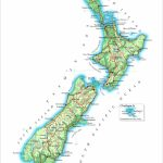 New Zealand Maps | Printable Maps Of New Zealand For Download   New Zealand South Island Map Printable