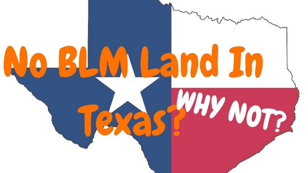 No Blm Land In Texas? - Why? - Youtube - Texas Blm Land Map