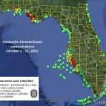 No Red Tide Bloom Offshore From Sarasota Manatee, Fwc Says   News   Toxic Algae In Florida Map