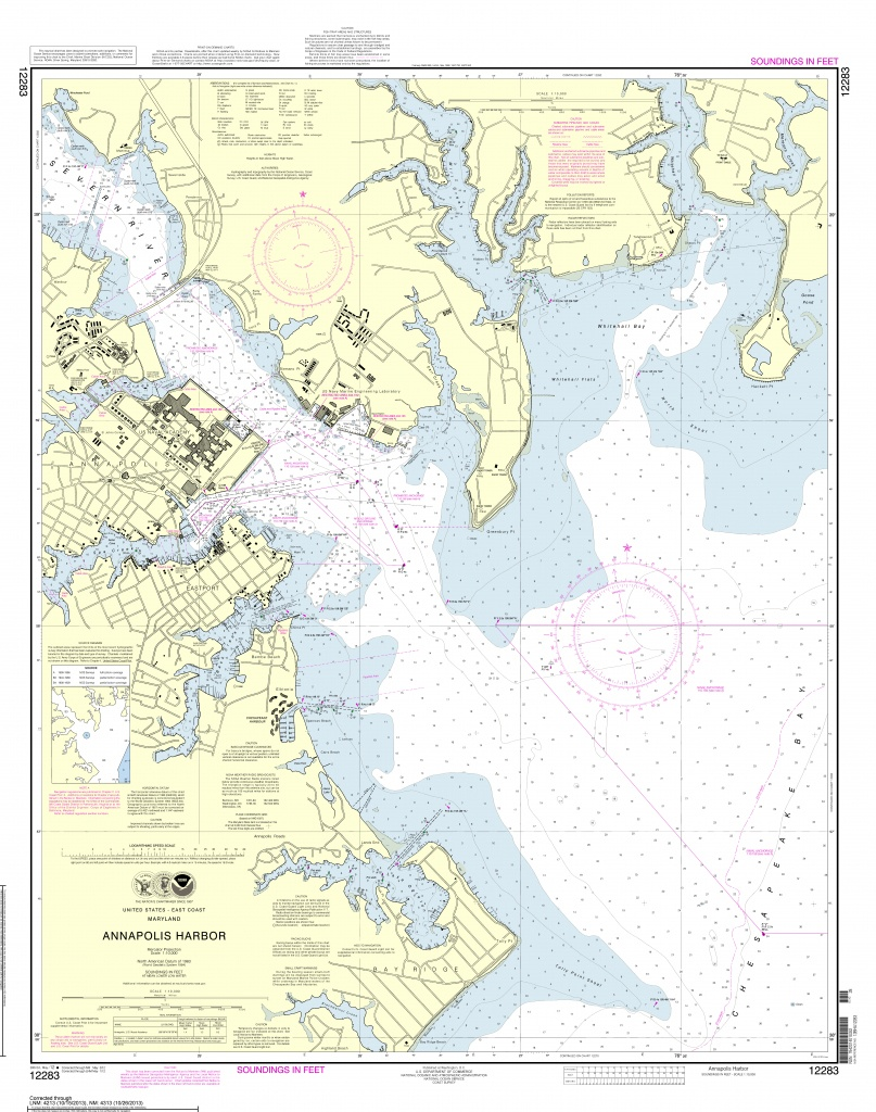 Noaa Nautical Charts Now Available As Free Pdfs | - Nautical Maps Florida