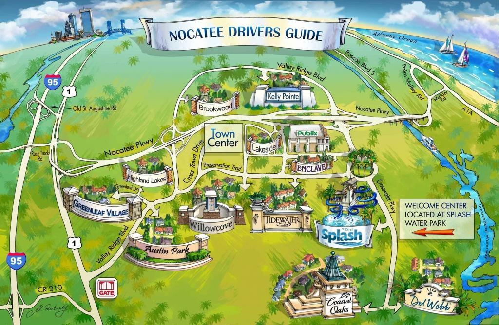 Nocatee Map   Nocatee   Ponte Vedra Beach, Florida Home, New Homes - Ponte Vedra Florida Map