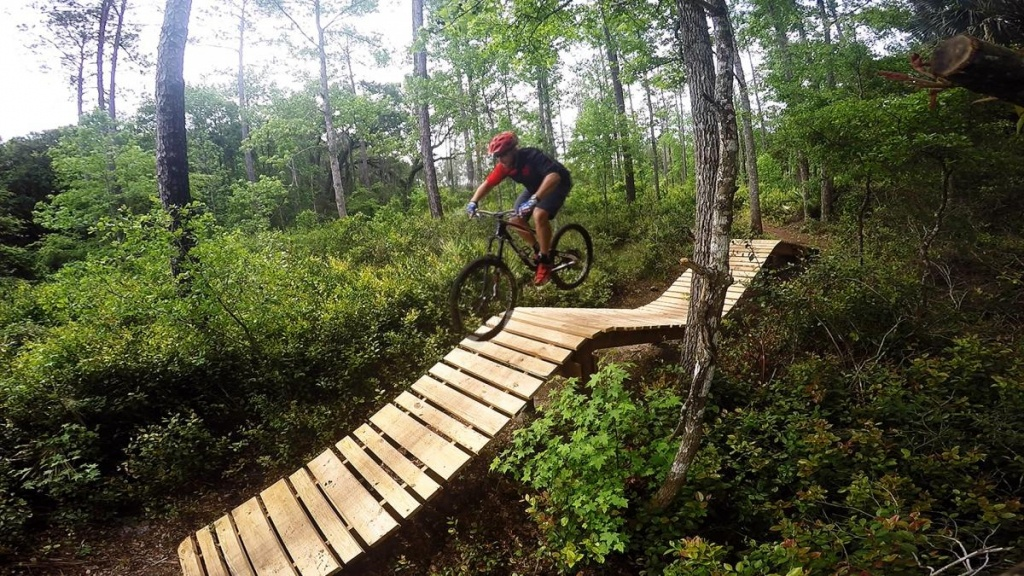 Nocatee Mountain Bike Trail In St. Augustine, Florida - Florida Mountain Bike Trails Map