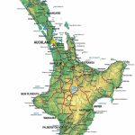 North Island New Zealand | Large Zoom In Map Of Nz | Nature In 2019   New Zealand South Island Map Printable