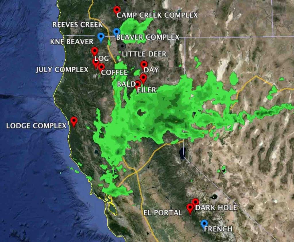 Northern California Coast - Ecosia - Northern California Weather Map - California Weather Map For Today