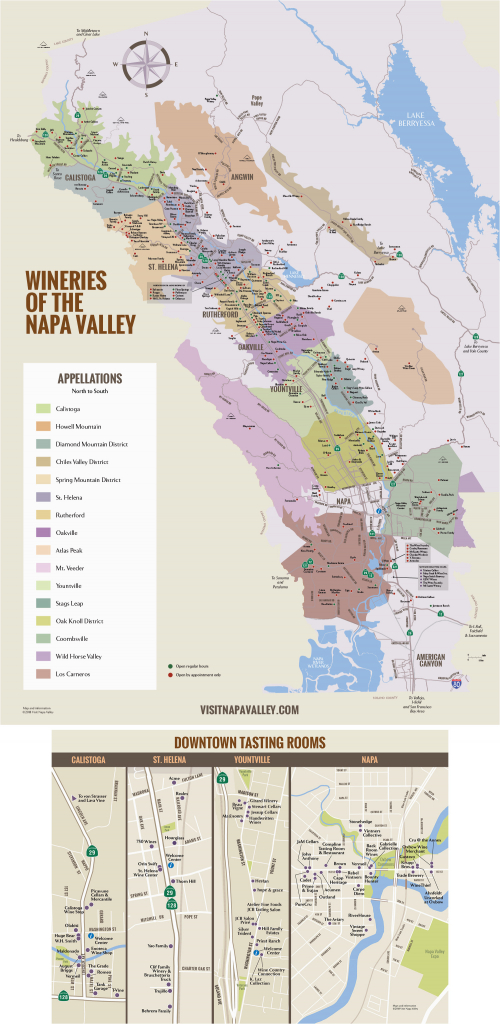 Northern California Wine Country Map Napa Valley Winery Map Plan - California Wine Country Map Napa