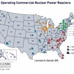 Nrc: Map Of Power Reactor Sites   Nuclear Power Plants In California Map