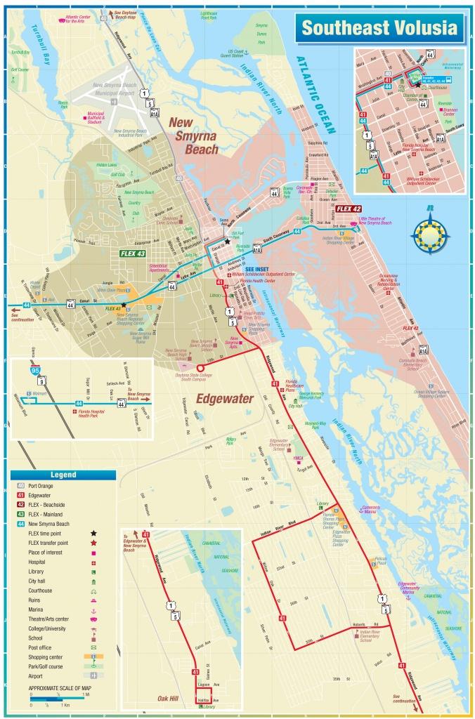 Nsb Flex - New Smyrna Beach Florida Map
