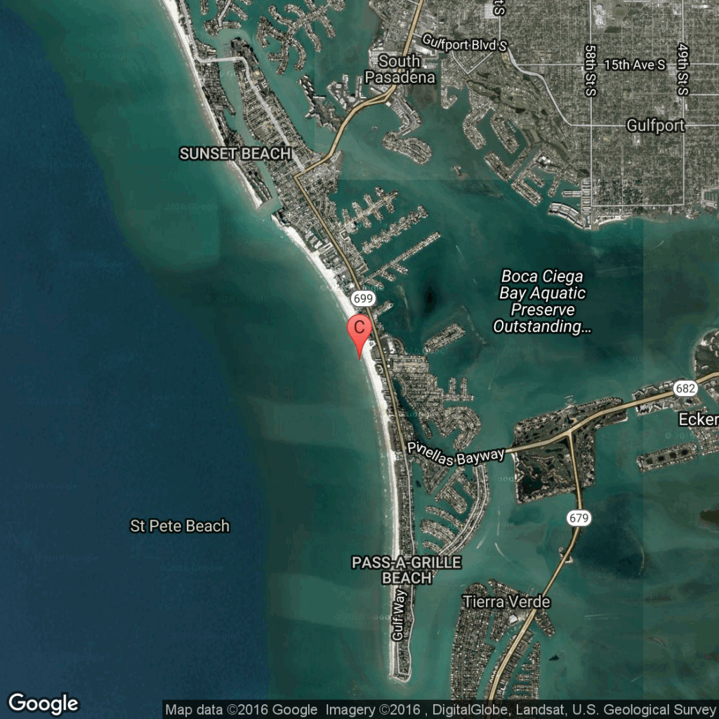 Oceanfront Hotels In St. Pete Beach, Florida   Usa Today - Map Of Hotels On St Pete Beach Florida