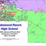 Office Of Student Assignment / High School Zone Maps   Lakewood Ranch Map Florida