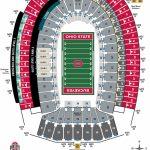Ohio Stadium Seating Chart – Ohio State Buckeyes   University Of Florida Football Stadium Map