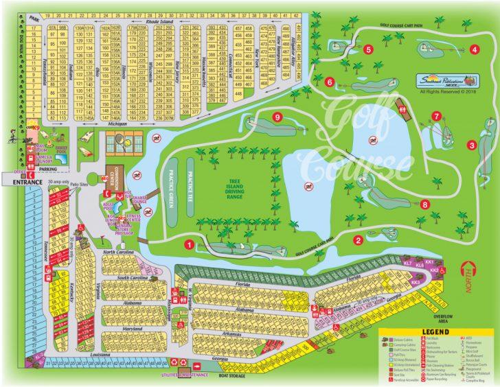 Florida Camping Map