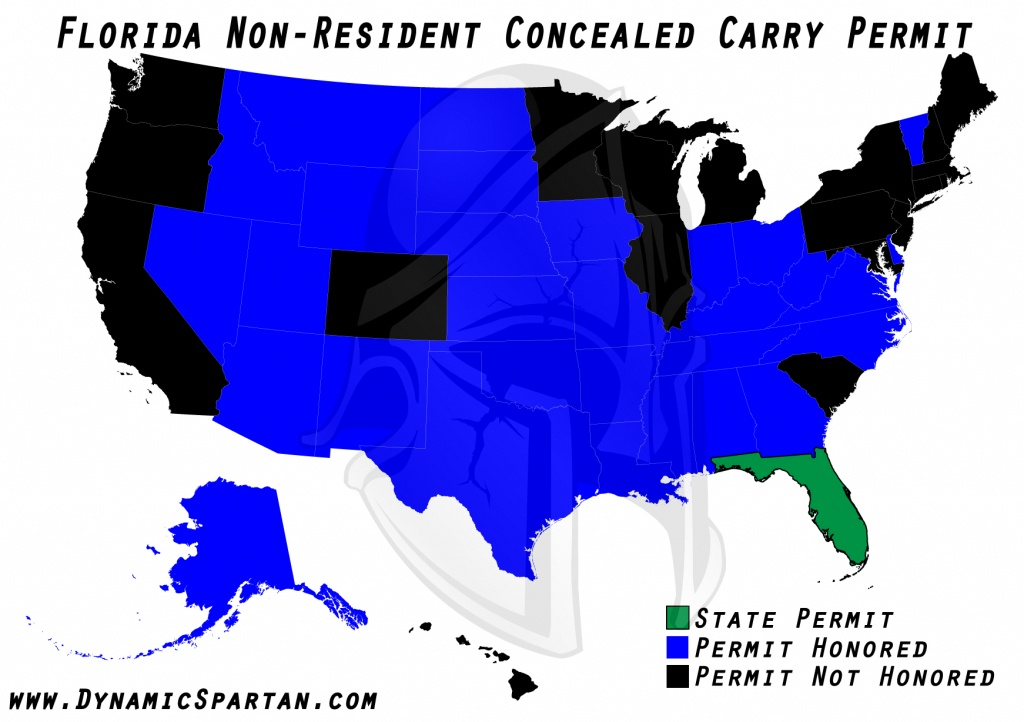 Oklahoma State Bureau Of Investigation Reciprocity Within Colorado - Florida Reciprocity Concealed Carry Map
