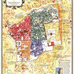 Old City Jerusalem, Israel Mapnational Geographic | Homeschool   National Geographic Topo Maps California