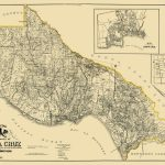 Old County Map   Santa Cruz California Landowner 1906   Santa Cruz California Map