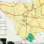 Old Highway Maps Of Texas   South Texas Road Map