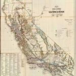 Old Historical City, County And State Maps Of California   Interactive Map Of California Counties