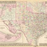Old Historical City, County And State Maps Of Texas   Texas Historical Maps