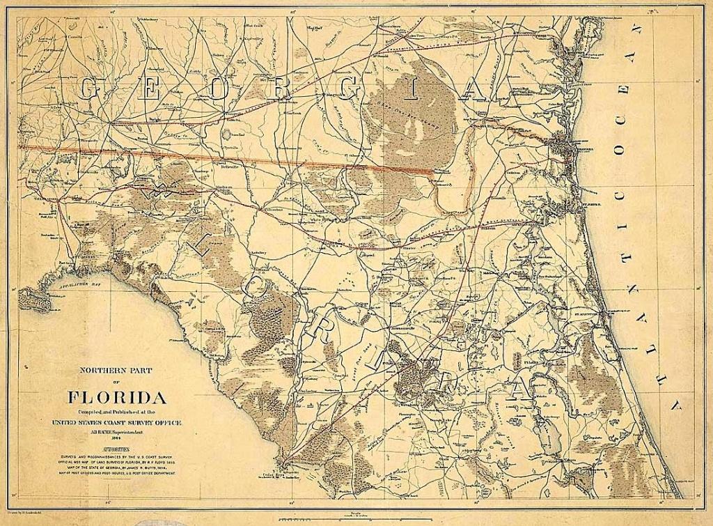 Old King's Road, Florida - Old Maps Of Jacksonville Florida