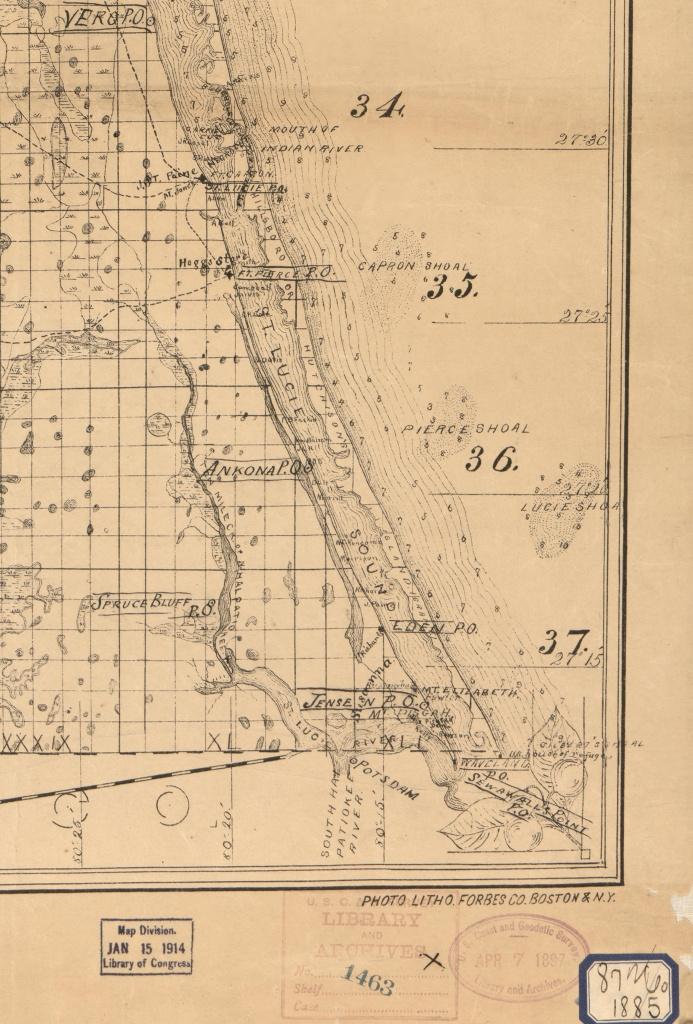 Old Maps | Jacqui Thurlow-Lippisch - Street Map Of Stuart Florida