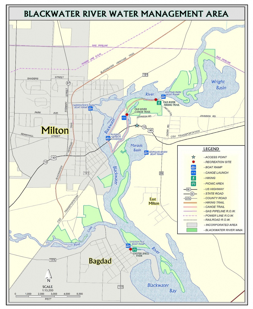 Old River Trail | Northwest Florida Water Management District - Florida Trail Maps Download