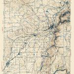 Old Topographical Map   Auburn California 1941   Auburn California Map