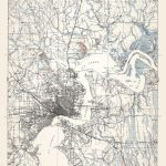Old Topographical Map   Jacksonville Florida 1917   Old Maps Of Jacksonville Florida