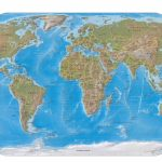 Online Map Of Physical World   World Maps Online Printable