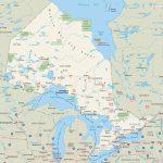 Ontario Highway Map   Printable Map Of Ontario
