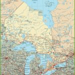 Ontario Road Map   Printable Road Map Of Canada