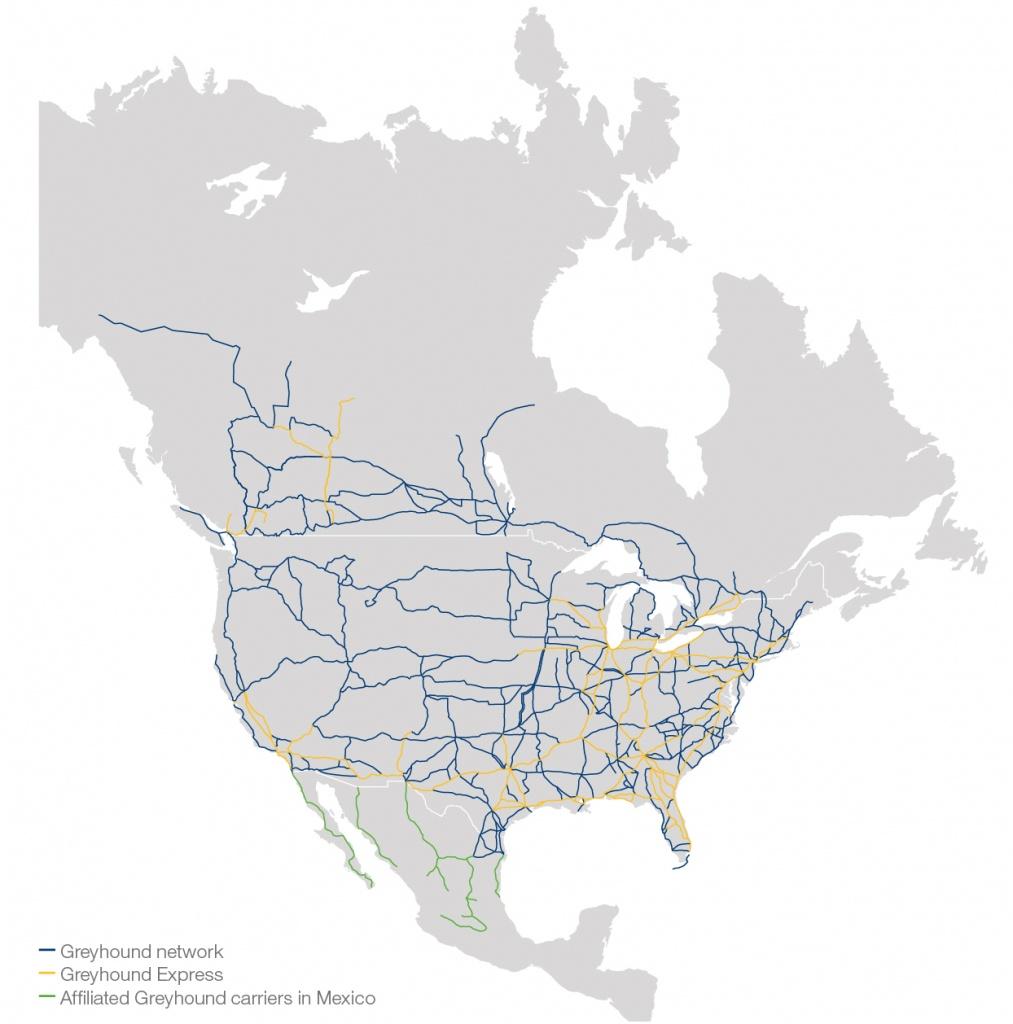 Ontario Service Map Fabulous Greyhound Canada Map - Diamant-Ltd - Greyhound Map California