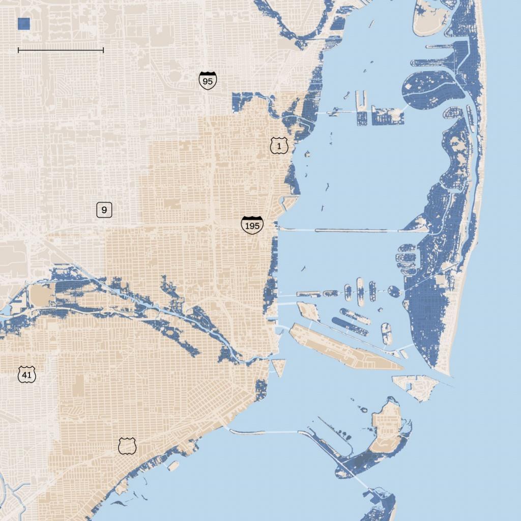 Opinion | Miami Battles Rising Seas - The New York Times - Florida Flood Zone Map