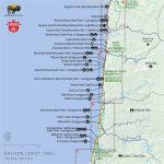 Oregon Coast Map Pdf | Secretmuseum   Map Of Oregon And California Coastline