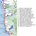 Oregon Northern California Coast Map – Map Of Usa District   Map Of Oregon And California Coastline
