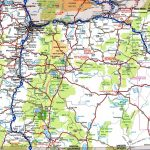 Oregon Road Map   Printable Road Maps By State
