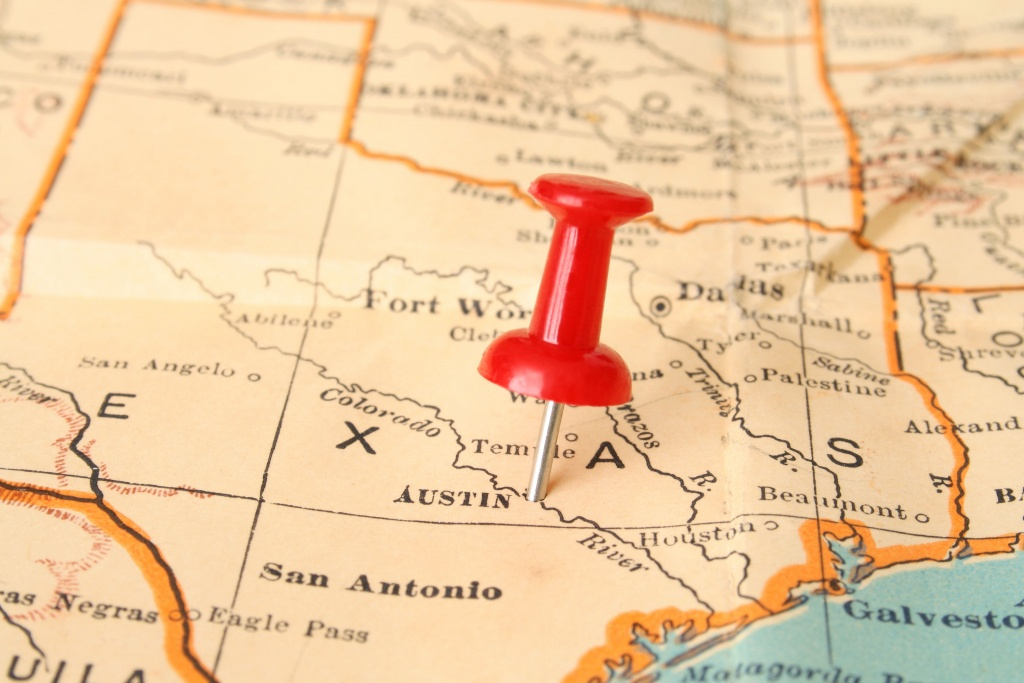 Origin Of Names Of Texas Towns - Southern Living - Sweetwater Texas Map