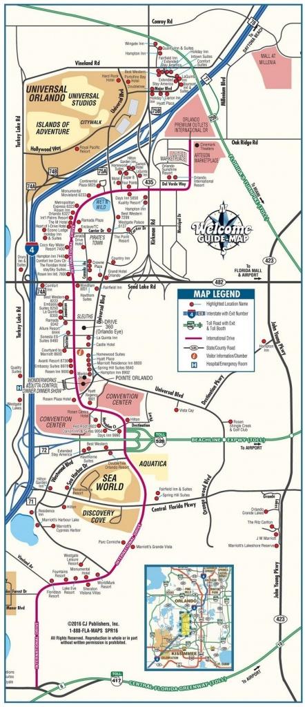 Map Of Orlando Florida International Drive