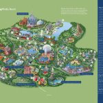 Orlando Walt Disney World Resort Map   Florida Resorts Map