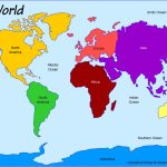 Outline Base Maps   Map Of World Continents And Oceans Printable