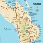 Overview Map Of Southern Baja   Los Cabos Guide   La Paz Baja California Map