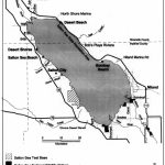 Overview Map Of The Salton Sea, California, And Vicinity. | Download   Salton Sea California Map