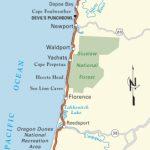 Pacific Coast Route: Oregon | Road Trip Usa   Map Of Oregon And California Coastline